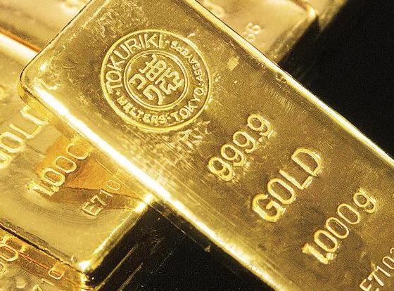 Harga emas menguat kembali