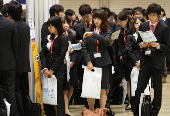 Tingkat pengangguran Jepang mengalami kenaikan