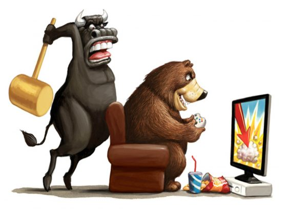 Bursa saham di Wall Street bersiap memasuki wilayah koreksi