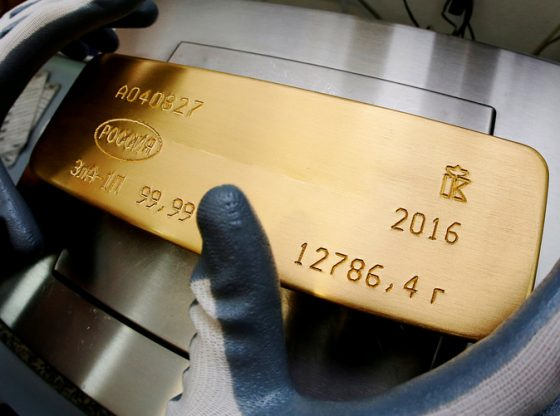 Investor melakukan aksi ambil untung, membuat harga emas terkoreksi.