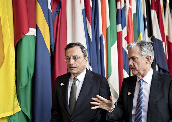 Sejumlah pimpinan Bank Sentral mengkhawatirkan dampak perang dagang bagi perekonomian global.