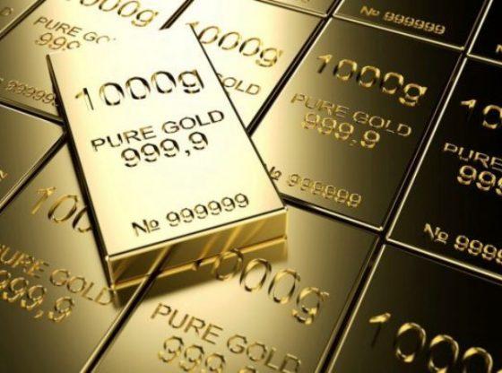 Harga emas turun menembus level psikologis.