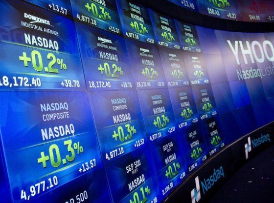 Bursa saham AS turun oleh sentimen dari jatuhnya bursa China. (Foto Istimewa)