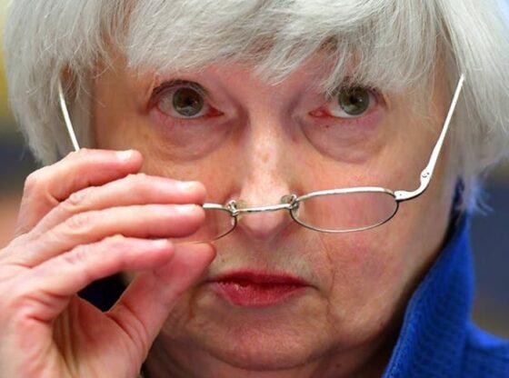 Janet Yellen, Menteri Keuangan Amerika Serikat